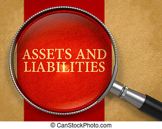 Assets and Liabilities through Magnifying Glass - Assets and...
