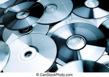 dvd - Given a set of DVDs scattered on a table