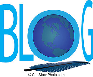 blog feather - blog writing on the web