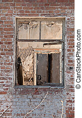 Window for Destroyed building - A Window in Destroyed...