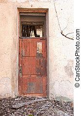 Door for Destroyed building - A door in Destroyed building...