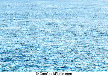 Calm Tropical Ocean Stretches to the Horizon background -...