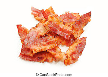 Crispy Browned Bacon Ready to Eat