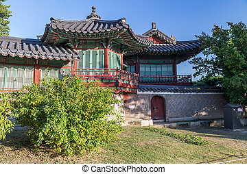 House in Changdeokgung Palace,  Seoul