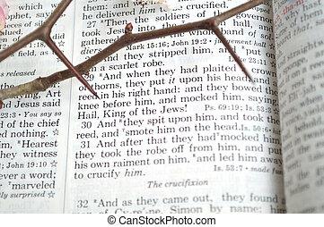 Good Friday scripture with thorns - Good Friday, crucifixion...
