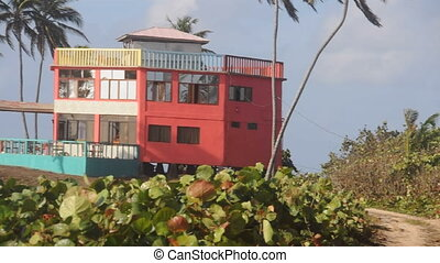 colorful beach house nicaragua - colorful beach house hotel...