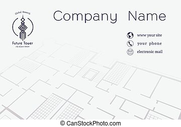 Vector Architectural Business Card