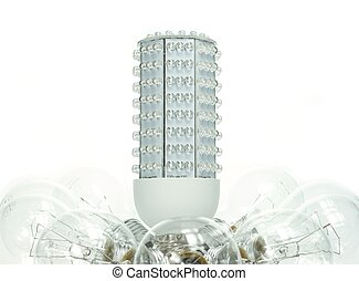 Rise of the LED - As incandescent light bulbs is outlawed in...