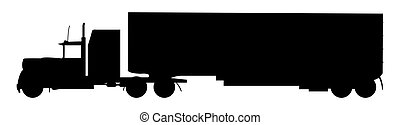 Lorry Silhouette