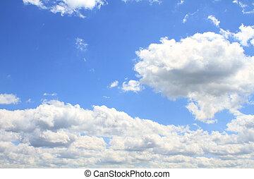 horizontal, Cloudscape