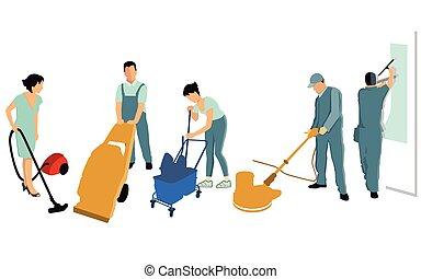 Service und Reinigen.eps - Cleaning power