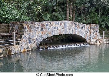 Bridge in El Yunque National Forest Park, Puerto  Rico