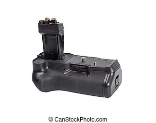 Battery grip for modern DSLR camera