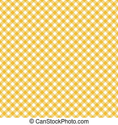 Table cloth seamless pattern yellow