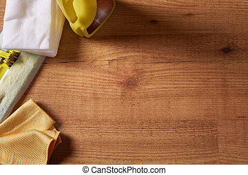 Tools and products for the maintenance of wooden floors top...