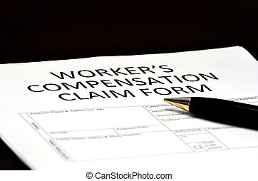 Worker's Compensation Comp Form for Claims