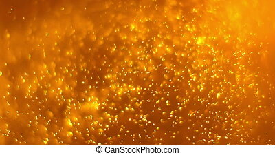 gold dust particles background loop seamless ready, golden light spot movement