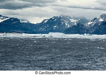 The southwest coastline, Greenland - The southwest coastline...