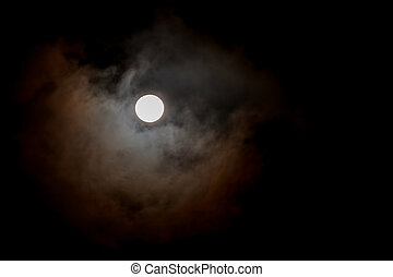 Full Moon, One Of The Phases Of The Lunar Cycle, Moonlight