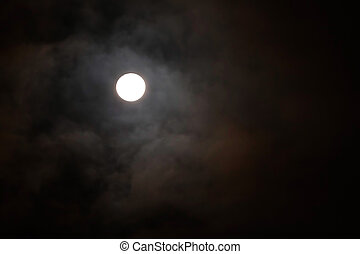 Full Moon, One Of The Four Phases Of The Moon, Occurring...