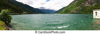 Walley of Poschiavo - Canton of Grisons, along the Alpine...