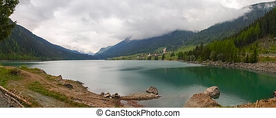 Sufnersee - Canton of Grisons, along the Alpine passes