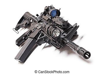 AR-15, tático, carbine,