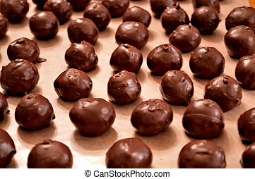Chocolate Bon-bon candy - Hand-dipped, chocolate Martha...