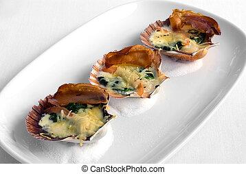 Tempting Seafood Entree