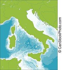 Italian Republic map - Italy is a unitary parliamentary...