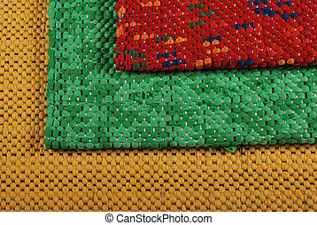 Rugs - Background of rugs material pattern texture flooring
