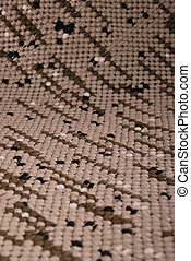 Brown rug - Background of rug material pattern texture...