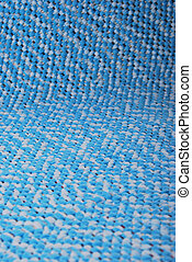Blue rug - Background of rug material pattern texture...