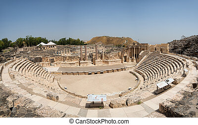 Beit She'an theater. Beit Beit She'an is one of the Northern...