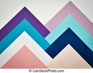 paper collage moutain - abstract creative background paper...