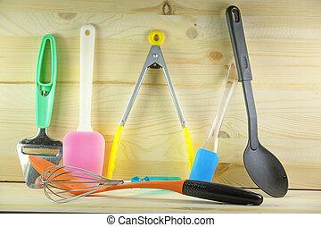 kitchen utensil - Set of a kitchen utensil