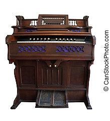 antikvitet, trampa,  organ