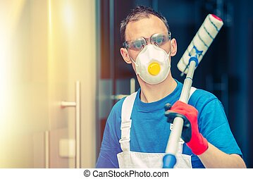 Pro House Painting. Professional House Painter with Painting...