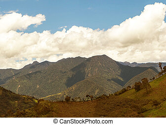 Views Through The Andes Mountains - Views Through The Andes...
