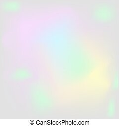 Holographic pearl background Iridescent hologram backdrop -...
