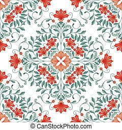 Seamless oriental pattern This is file of EPS10 format