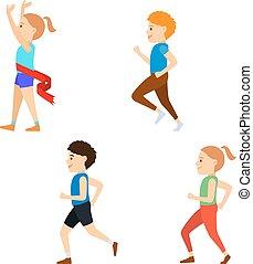 Kids Marathon set