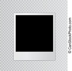 Single photo frame space for your text