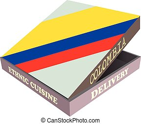 Ethnic cuisine Colombia - Delivery, Ethnic cuisine Colombia....