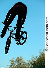 BMX cycling  bicycle sport
