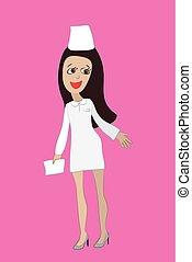 Nurse working form