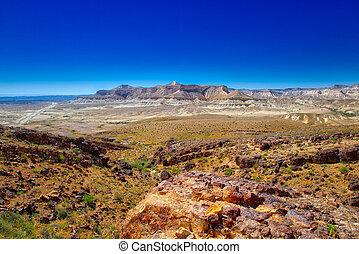 Negev desert Israel - Landscape of Negev desert Israel