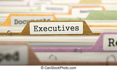 Executives Concept Folders in Catalog - Executives Concept...