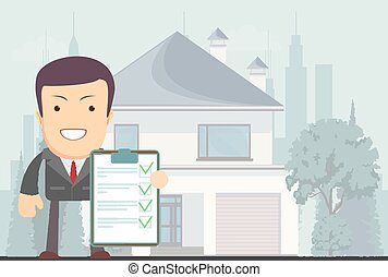 Realtor offers to rent or buy a house