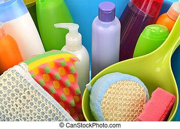 Conjunto, Detergentes,